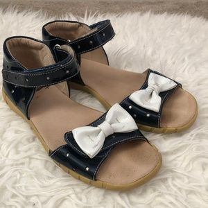 Livie & Luca Minnie Sandals with Bows